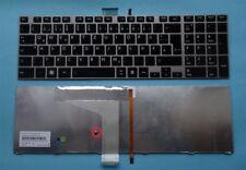 Tastatur Toshiba Satellite C850D C850-1GR C850-11C Beleuchtet Backlit Keyboard