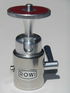 Vintage ROWI Medium Size Tripod Ball Head w/ Lever Lock Design • Made in Germany