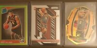 2018-19 Omari Spellman RC Lot Select Orange, Lime Green Optic Prizm /65, /149