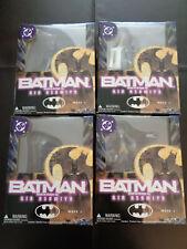BATMAN KIA ASAMIYA WAVE 1 YAMATO TOY LOT OF 4 MIB NEW! BATMAN JOKER CATWOMAN +