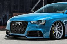 Per AUDI RS5 8T paracolpi anter Lip Cup Gonna INFERIORE SPOILER Chin Valance Splitter