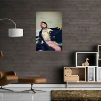 "LIL PEEP  Stretched  Canvas Art Print   20"" x 14"""