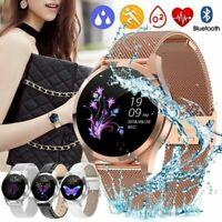 KW10 LuxuryWomen Smart Watch Waterproof Heart Rate Fitness Monitoring Stainless