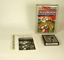 Vintage Boxed Atari 7800 game Xevious Tested & Working Cib