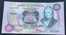 Extremely fine 1991 Bank of Scotland £20 note.