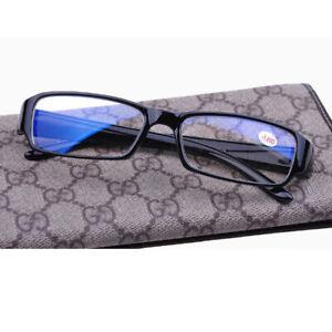 Kurzsichtig Fernbrille Plastik Rahmen Anti-Blue-light Brille -1,00 to -6,00