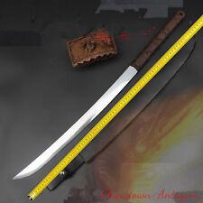 Tai-chi Tang Dao Tang Sword Hand Forged High manganese steel blade sharp #3952