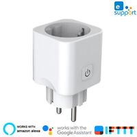 HOT!!! NEW Smart Plug Wifi Smart Socket EU Plug eWeLink with Alexa Google Home~~