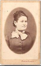 Martin Heimerl CDV photo Damenportrait - Wien 1870er