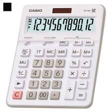 Casio Gx-12B-We Calculator 12-Digit 2 Memories Twin Power Mark-Up % Large White