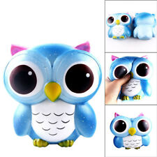 Fashion Lovely Galaxy Owl Cream Scented Soft Slow Rising Squeeze Toys US STOCK