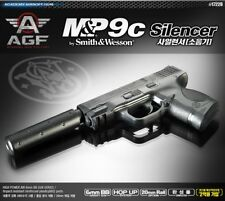 Academy MP9C Silence Airsoft Pistol BB 6mm Hop Up System