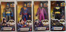 """DC Comics Batman Mechs vs. Mutants Action Figures 6"""" Jocker Batman Superman"""
