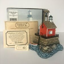 New listing Mussel Bed Shoal Rhode Island #555 Harbour Lights | Retired Ltd Ed w Coa (2006)