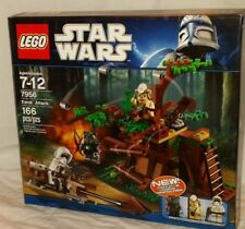 SEALED 7956 LEGO Star Wars EWOK ATTACK Tokkat Logray Scout Trooper 166pc RETIRED