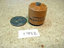 Sprague 500pf 20kv Doorknob High Voltage Capacitor Used