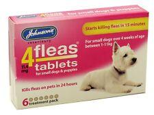 Johnson's 4 pulgas cachorro Fleatablets 6 comprimidos