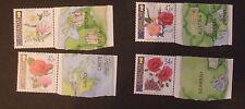 Used Sheet Gibraltarian Stamps