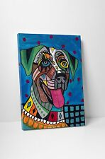 "Heather Galler Catahoula Dog Gallery Wrapped Canvas 16""x20"""