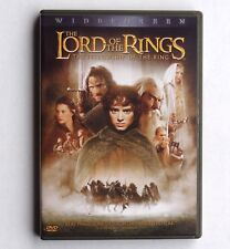 Lord of the Rings: Fellowship of the Ring 2001 PG-13 movie, new 2-disk DVD, Wood