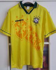 FIFA WC USA 94 BRASILE BRASIL soccer calcio maglia shirt jersey trikot camiseta