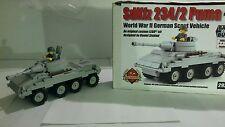 WW2 lego brickmania puma german scout vehicle