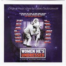 WOMEN HE'S UNDRESSED Original Soundtrack Score CD CEZARY SKUBISZEWSKI orry-kelly