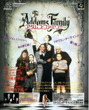 The Addams Family Cameltry Otogiriso 1992 JAPANESE GAME MAGAZINE PROMO CLIPPING