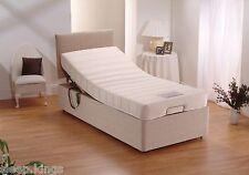 3FT SINGLE ELECTRIC ADJUSTABLE BED WITH MEMORY FOAM MATTRESS & HEADBOARD
