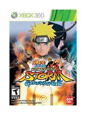 Naruto Shippuden: Ultimate Ninja Storm Generations (Microsoft Xbox 360, 2012)--