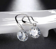 Jewelry Crystal Clear Ivory Drop Earrings Pair CZ Earrings Drop Dangle Earrings