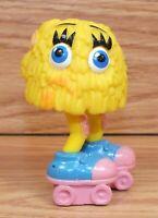Vintage 1989 Mcdonald's Fry Guys Yellow Head - Roller Skates PVC Figurine