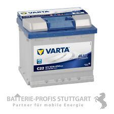 Varta Autobatterie  12 V 52 AH 470 A C22 ersetzt 40Ah 44Ah 45Ah 50Ah