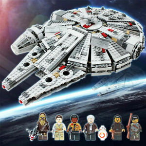 1381pcs Star Wars Millennium Falcon Force Awakens Compatible with 75105 Kids Toy