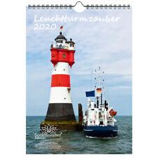 Leuchtturmzauber DIN A4 Kalender Hochformat 2020 Leuchtturm - Seelenzauber