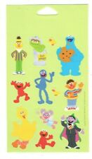 American Greeting Sticker Sesame Street Characters Sheet Scrapbooking Sd22 B