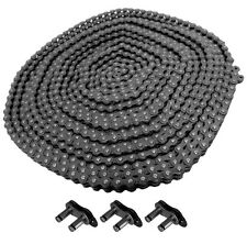 #41 ROLLER CHAIN 10FT With 3 free connecting links.New # 41 Roller chain