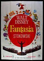 Manifesto Fantasia Mickey Mouse Walt Disney Orchestra Magia Stokowski M70