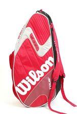 "Wilson Pro Tour K Factor Tennis Racket Bag Backpack 30"" X 12"" X 9"""