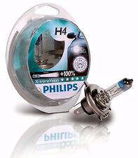 Special Sale! Philips X-treme Vision H4 +100% Headlight Bulbs 12V60/55W (Pair)