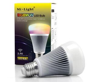 Lampe 8W, E27,  RGB+CCT