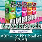 DOOZY 10ml nic salt salts shot E liquid Flavour Vape Juice Nicotine 10MG 20MG <br/> ONLY £3.99-BUY 3 GET 1 FREE- Original salts & Tropix