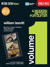William Leavitt A Modern Method For Guitar LEARN TO PLAY Book 1 Online Video