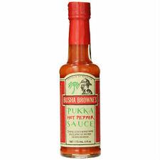 Busha Browne Hot Pepper Pukka Sauce 6 oz (pack of 6)
