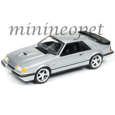AUTOWORLD AW64051 1984 FORD MUSTANG SVO 1/64 DIECAST VERSION A SILVER