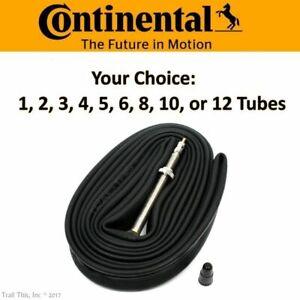 Continental Race 28 700x18-23-25 60mm Presta Road Bike Tube Multi-Pack Lot Bulk