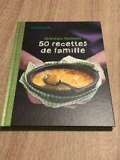 livres de recettes thermomix -  50 recettes de familles  - neuf
