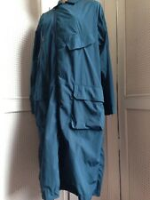 Lacoste Runway Collection Shell Coat Jacket, Mac, Oversized Style Size 10-12