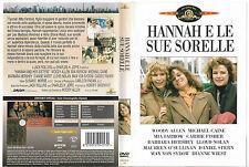 HANNAH E LE SUE SORELLE (1986) dvd ex noleggio