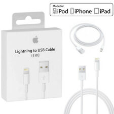 1m Genuine Apple Lightning USB Cable Charger for iPhone 8/7/6/5 iPad Mini Air